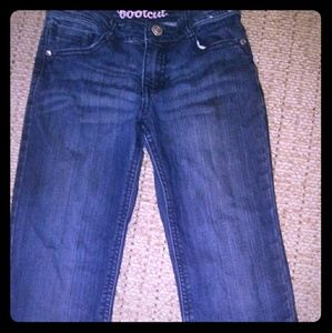 Girls boot cut jeans
